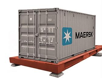 Весы для морских контейнеров